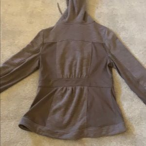 Anthropologie Jackets & Coats - Anthropologie Akemi + Kin hooded fitted zip up